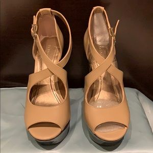 BCBG Generation Tan Sandals